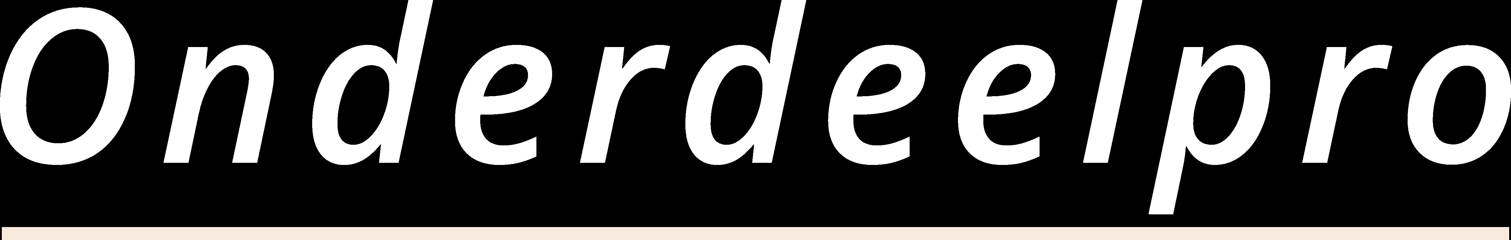 Onderdeelpro